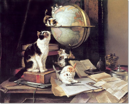 henriette-ronner-knip-traveling-around-the-globe-with-cat-and-kittens
